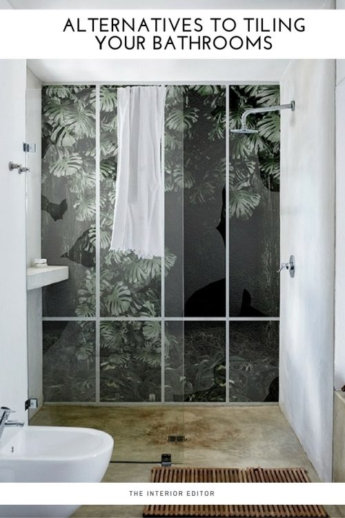 Alternatives to Tiling Your Bathrooms - Waterproof Wallcoverings, bathroom decor, bathroom walls